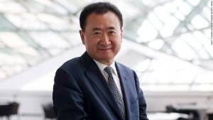 Jeden z nejbohatších Číňanů Wang Jianlin, podnikající na nemovitostním trhu, varoval, že země stojí na okraji největší realitní bubliny všech dob. Reprofoto: Speakerpedia.com